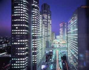 Shinjuku Washington Hotel Main Building_restaurant_manhattan_night view