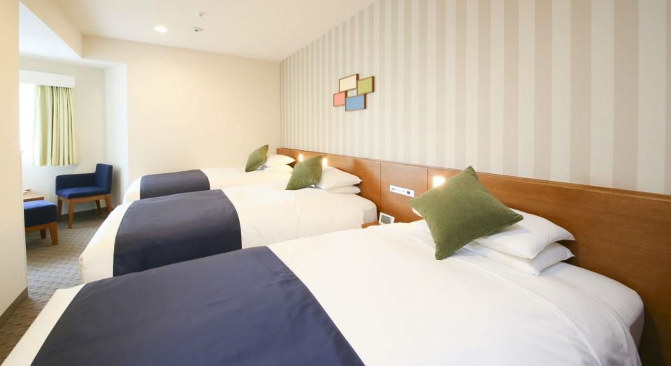 Guest Rooms Standard Triple Room Tokyo Hotel Shinjuku